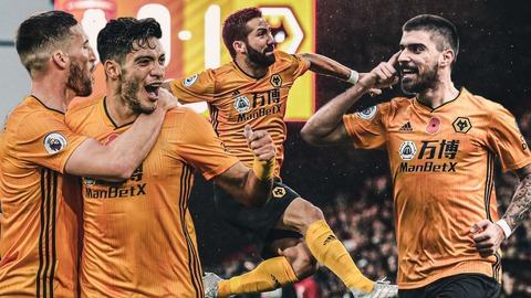 Raul Jimenez, Adama Traore, Ruben Neves, Joao Moutinho | November's top goals!