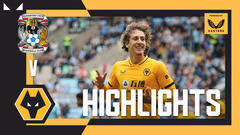 GOALS FROM RUBEN NEVES AND FABIO SILVA! | Coventry City 1-2 Wolves