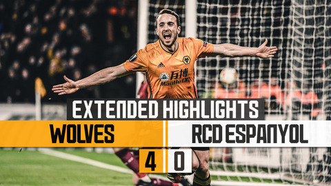 Wolves 4-0 RCD Espanyol | Extended Highlights