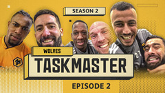 MOUTINHO, SAISS, BOLY AND PATRICIO CAUSE CARNAGE AT MEDIA DAY! WOLVES TASKMASTER | SELFIE CHALLENGE