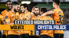 PODENCE OFF THE MARK! | Wolves 2-0 Crystal Palace | Extended Highlights