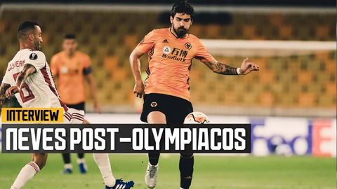 Ruben Neves on making the Europa League quarter finals!