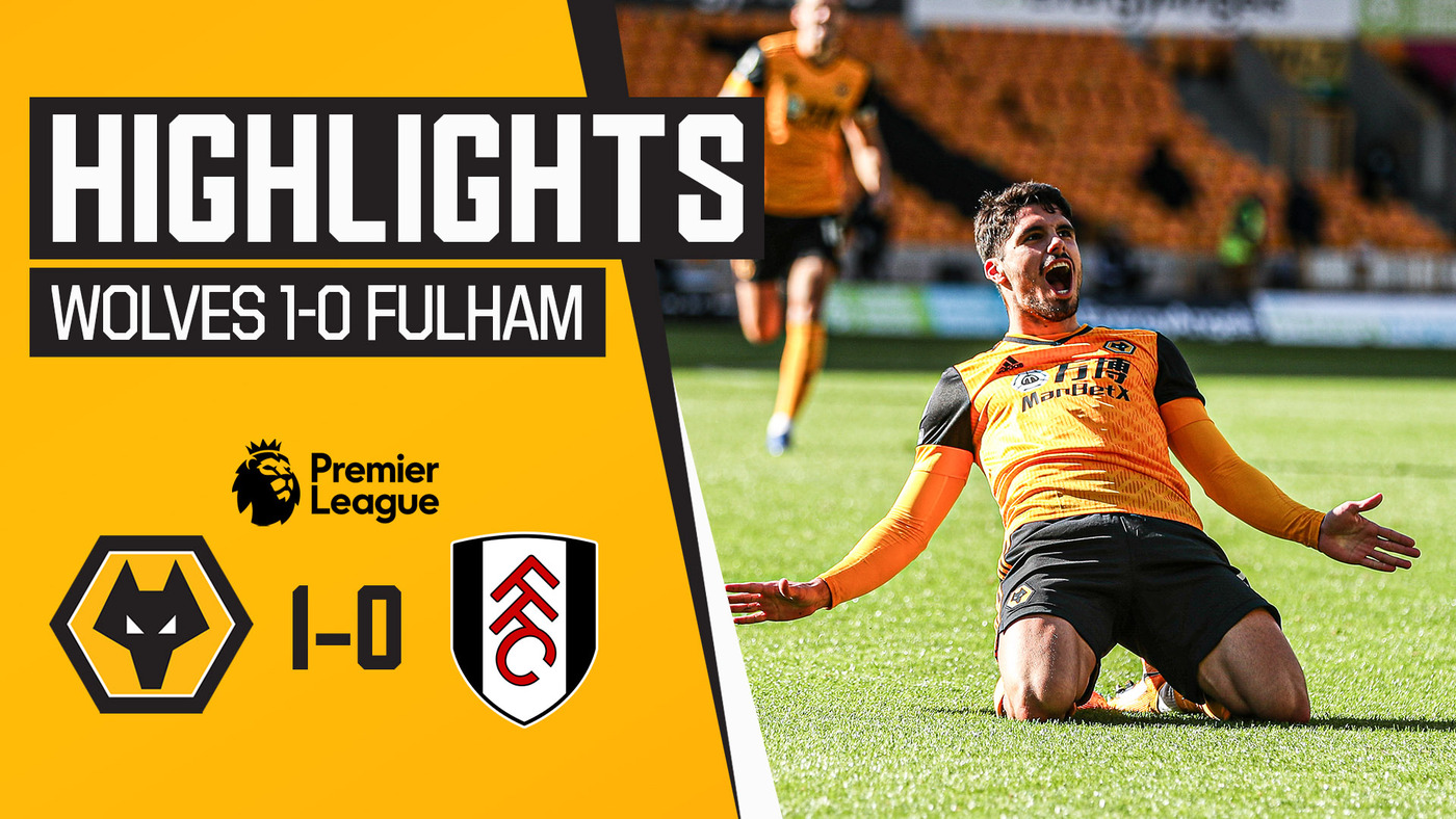 Pedro Neto strikes at Molineux! | Wolves 1-0 Fulham | Highlights