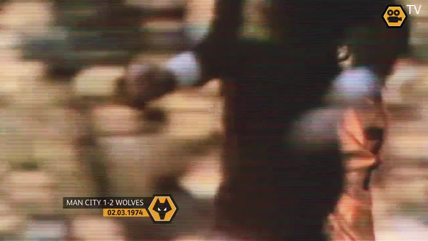 OLD GOLD: League Cup Final - Man City 1-2 Wolves