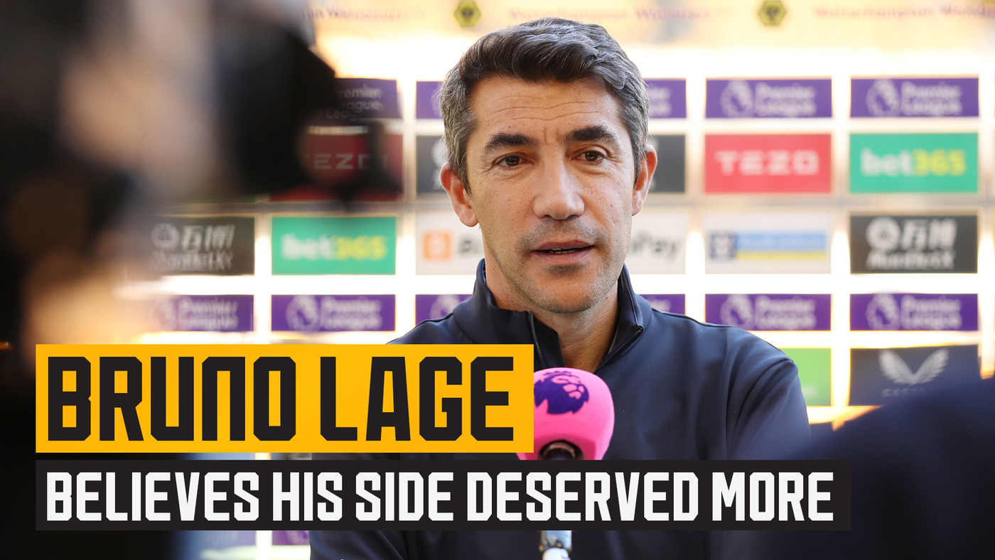 Lage believes his side deserved more against Spurs