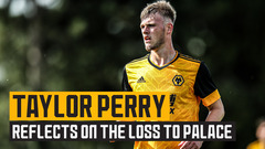 Perry reflects on defeat to Crystal Palace