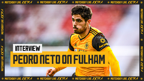 Pedro Neto on bouncing back, new recruits and his winning goal against Fulham | Matchday Live Extra