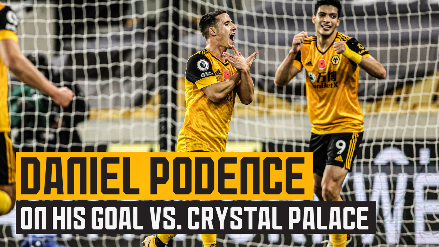 Goalscorer Podence on victory over Crystal Palace