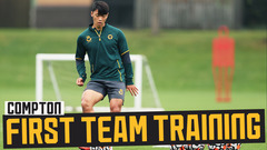 HWANG WATCH! | In-depth look at Hee Chan Hwang training with his new teammates