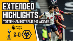 Defeat in the capital | Tottenham Hotspur 2-0 Wolves | Extended Highlights
