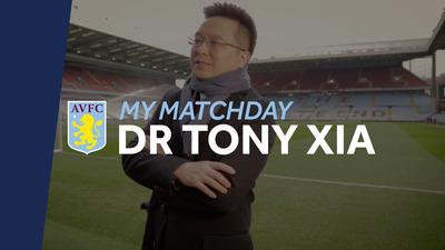 My Matchday: Dr Tony Xia