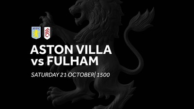 Aston Villa 2-1 Fulham: Match re-run