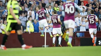 Aston Villa 1-1 Huddersfield Town: Extended highlights