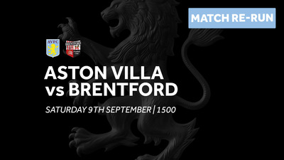 Aston Villa 0-0 Brentford: Full match re-run