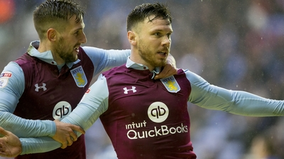 Wigan Athletic 0 - 2 Aston Villa: Bitesize highlights