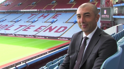 Roberto Di Matteo's first interview