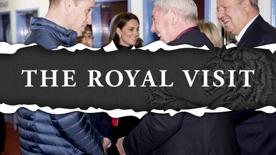 The Royals visit Villa Park