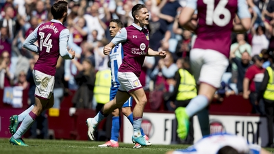 Aston Villa 1-1 Brighton: Bitesize highlights