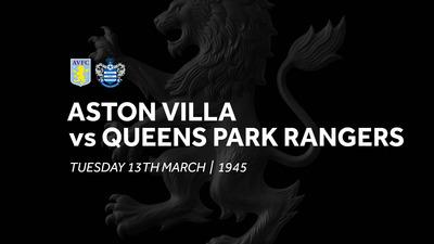 Aston Villa 1-3 QPR: Match re-run