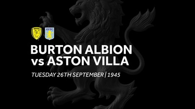 Burton Albion 0-4 Aston Villa: Match Re-run
