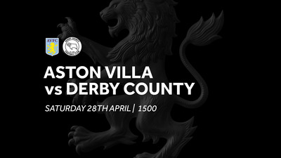 Aston Villa 1-1 Derby County: Extended highlights