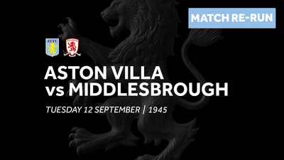 Aston Villa 0-0 Middlesbrough: Full match re-run