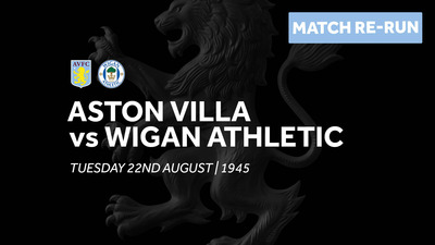Aston Villa 4-1 Wigan Athletic: Full match re-run