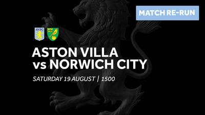 Aston Villa 4-2 Norwich City: Full match re-run