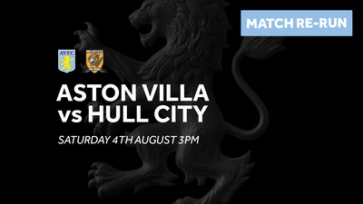 Aston Villa 1-1 Hull City: Full match re-run