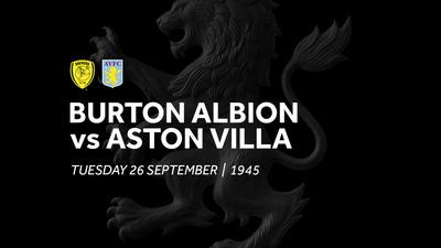 Burton Albion 0-4 Aston Villa: Extended highlights