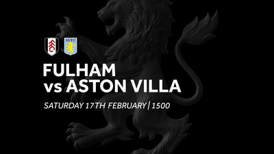 Fulham 2-0 Aston Villa: Match re-run