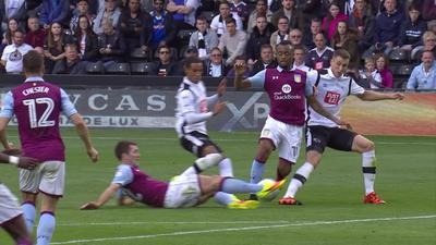 Aston Villa 0-0 Derby County: Extended highlights