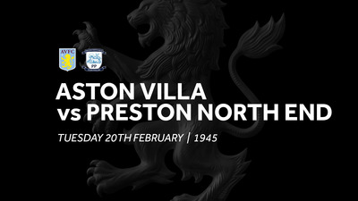 Aston Villa 1-1 Preston North End: Match re-run
