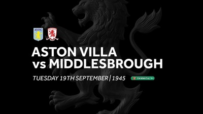 Aston Villa 0-2 Middlesbrough: Match re-run