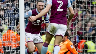 Aston Villa 1-0 Derby: Extended highlights