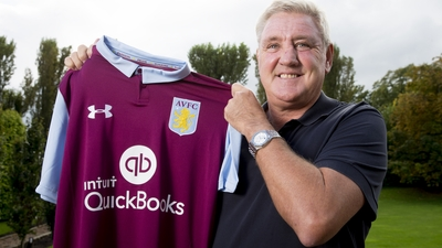 Steve Bruce manager exclusive