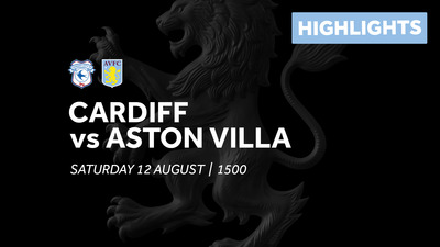 Cardiff City 3-0 Aston Villa: Extended highlights