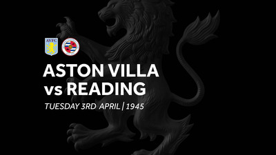 Aston Villa 3-0 Reading: Match re-run