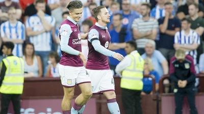 Aston Villa 1-1 Huddersfield Town: Bitesize highlights