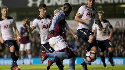 Tottenham 2-0 Aston Villa: Bitesize highlights