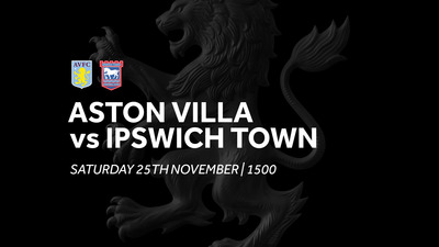 Aston Villa 2-0 Ipswich Town: Match re-run