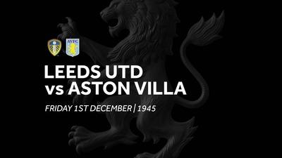 Leeds Utd 1-1 Aston Villa: Extended Highlights