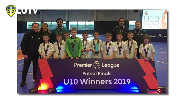 LUFC U10S NATIONAL FUTSAL CHAMPIONS