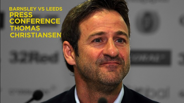 THOMAS CHRISTIANSEN | PRE-BARNSLEY PRESS CONFERENCE