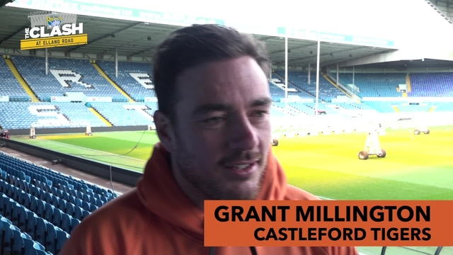 LEEDS V CASTLEFORD | GRANT MILLINGTON | INTERVIEW