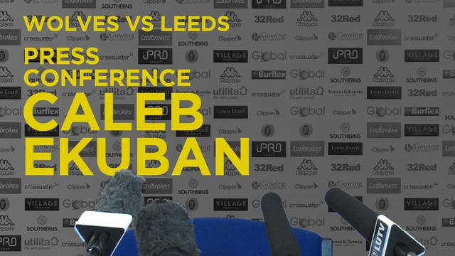 CALEB EKUBAN | PRE WOLVES PRESS CONFERENCE