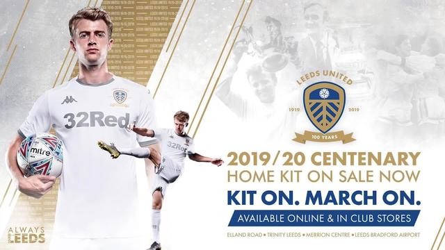THE 2019 / 20 CENTENARY HOME KIT | ON SALE NOW