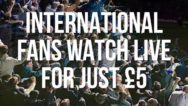 LEEDS UNITED v BIRMINGHAM CITY | INTERNATIONAL FANS WATCH LIVE FOR £5