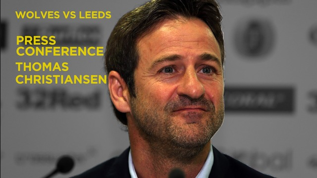 THOMAS CHRISTIANSEN | PRE WOLVES PRESS CONFERENCE
