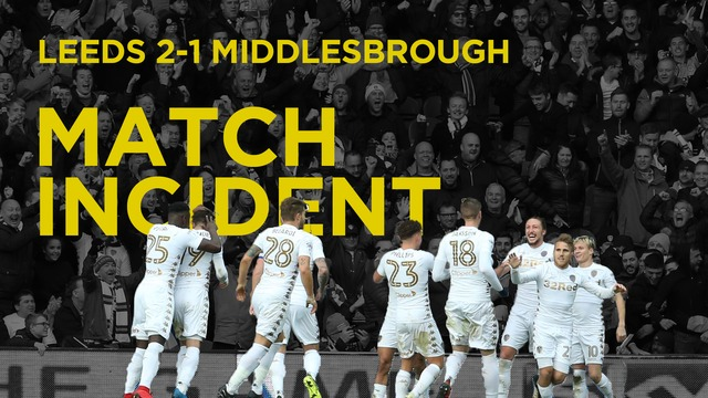LEEDS V BORO | AYLING INCIDENT